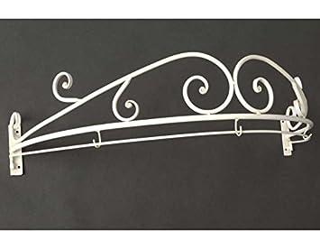 Ciel de lit romantique en métal blanc: Amazon.fr: Cuisine & Maison