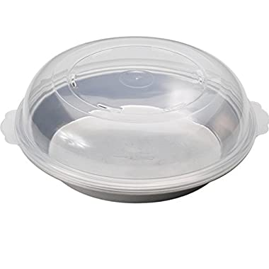 Nordic Ware Natural Aluminum Commercial Hi-Dome Covered Pie Pan