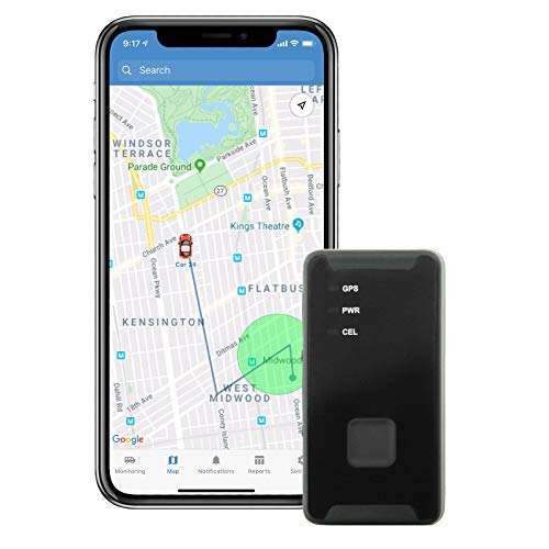 Lightning GPS GL300 Discreet 4G Cellular Micro Real-Time Portable GPS Tracker for Vehicles, Cars, Teens, Kids, Elderly, Equipment, Valuables