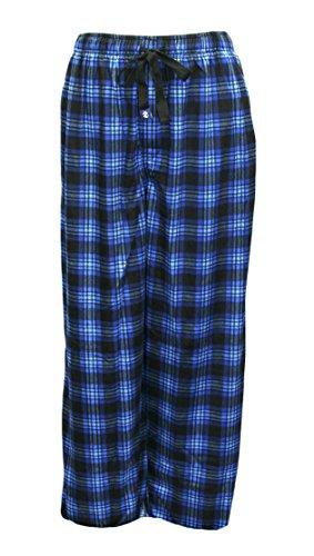 IZOD Men's Matte Silky Fleece Sleep Pant (X-Large, Oxford)
