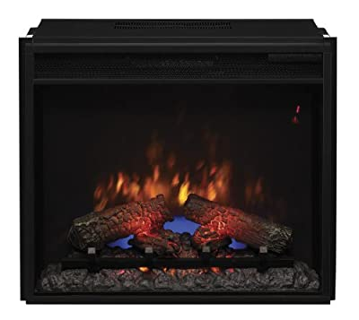 "ClassicFlame 23EF031GRP 23"" Electric Fireplace Insert with Safer Plug"