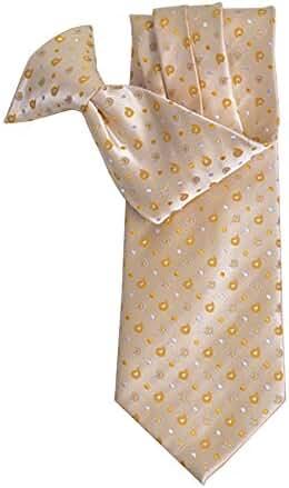 Tear Drop Pattern Clip on Tie