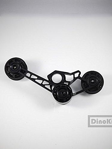 Nov Ver 3.0 Black 1/2/6 Speed Metal Tensioner (Full Set) for Brompton Folding Bike Dino Kiddo B079M13CRL