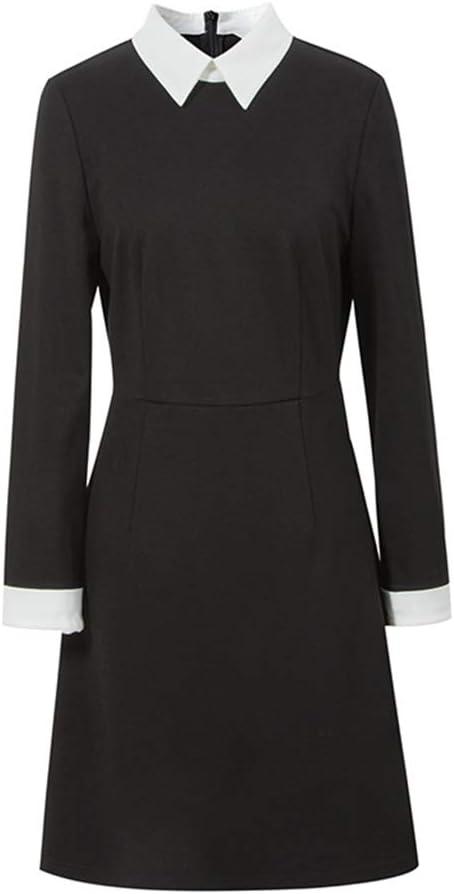 Vestidos Mujer Dirndl Mujer Falda Negra Moda Cintura Alta Falda ...