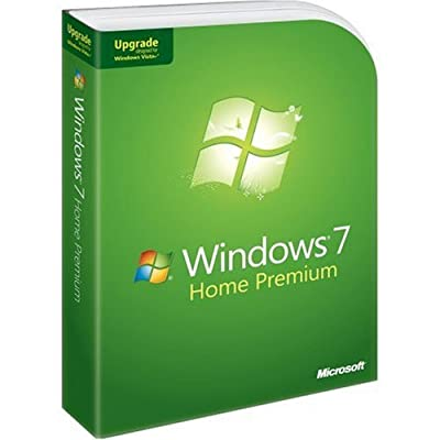 Microsoft Windows 7 Home Premium Upgrade [Old Version]