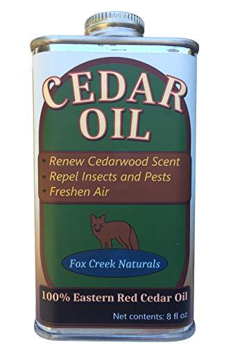 Eastern Red Cedar (juniperus virginiana) Essential Oil 8 oz - Fox Creek Cedar Oil