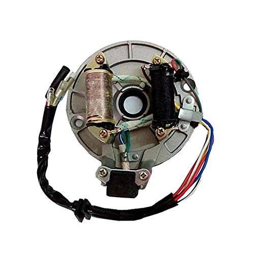 VideoPUP 2 Coil Magneto Stator, Kick start Pit Bikes for XR/CRF 50, XR/CRF  70, Z50R(1988~1999), ZB50 and Most Pit Bikes with 50cc, 70cc, 90cc, 110cc &