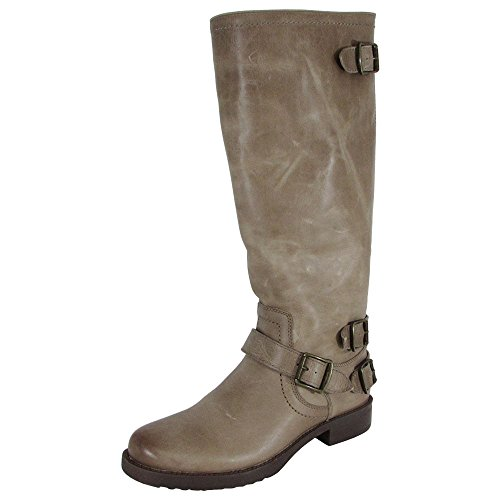 Arturo Chiang Women Ella Leather Riding Boot Shoe, Sahara Sand Maple (Sand Boots Leather)
