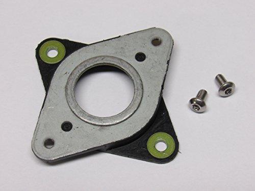 (4 Pack) NEMA 17 Steel and Rubber Stepper Motor Vibration Damper + M3 Screws for CNC, 3D Printer by ProtoBuilds