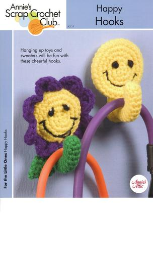 Download Happy Hooks - 2 Happy Face Crochet Patterns - Annie's Scrap Crochet Club - SCC17 - 2005 PDF