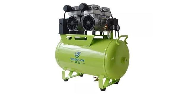 Hot Dental ga (82) 1600 W-60l Silencioso Sin Aceite compresor de aire para 4 piezas Silla Dental: Amazon.es: Salud y cuidado personal