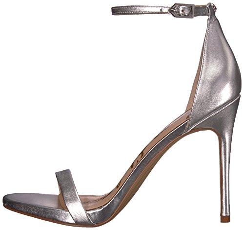 Women''s Ariella Silver soft 020 Sandal Edelman Heeled Sam 7p5SqHw5