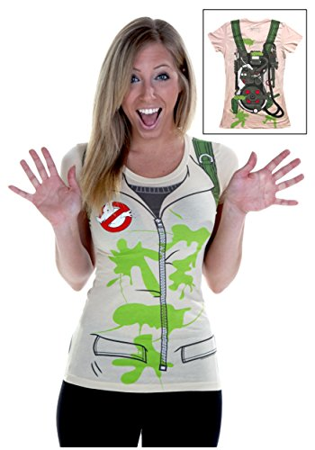 - Ghostbusters I Am A Ghostbuster Juniors Costume T-Shirt (XXX-Large)