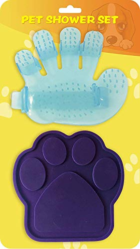 Cuteeco Pet Buddy -The Perfect Dog Distraction Device,Makes Bath Time Easy, Just Spread Peanut Butter Stick -