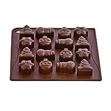 Pavoni ChocoIce Christmas Silicone Mold
