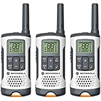Motorola Talkabout T261TP Two-Way Radio (Set of 3), White