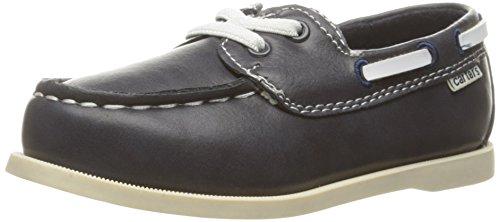 carter's Boys' Ian  Boat Shoe, Navy, 9 M US