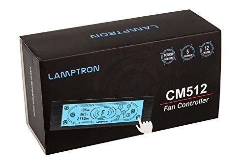 Lamptron Fan Controller CM512, Black (Touch Screen Fan Controller)