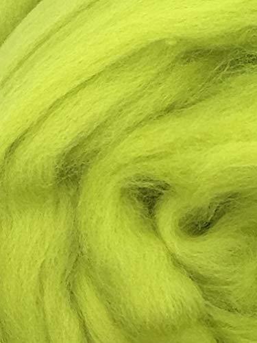1lb Celedon Green Wool Top Roving - Spinning, Felting, Crafts USA by Shep's Wool (Image #5)