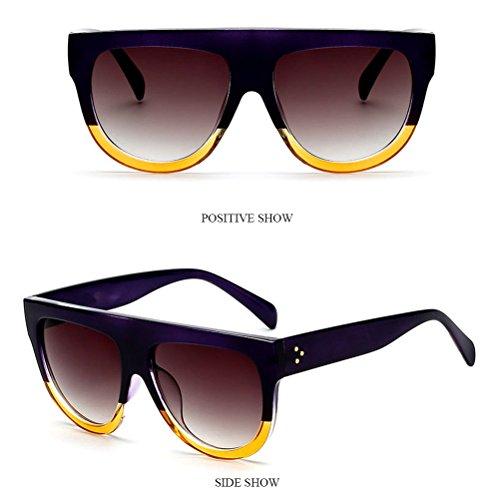 Aux Des Pour Cadre Dans Mens De Zhhlinyuan Couleurs Plein Purple Lunettes Femmes Womens 2 Sunglasses Et Activités Soleil Énorme Hommes Air Protection Conduite wIdnq5qA
