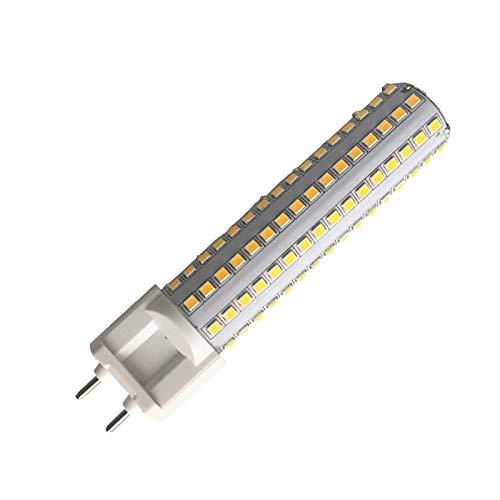 Bombillas LED G12 de 15 W con base de halógeno G12, 150 W, bombilla de repuesto para maíz, ángulo de haz de 360 grados: Amazon.es: Iluminación