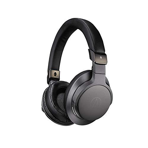 Audio-Technica ATH-SR6BTBK Bluetooth Wireless Over-Ear High Resolution Headphones with Mic