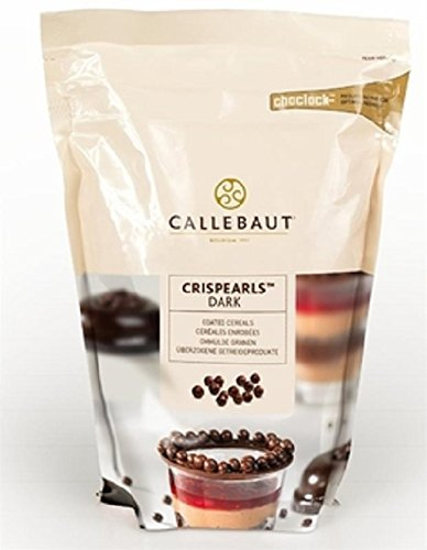 Callebaut Crispearls - Dark Chocolate - 28 Ounces