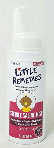 Little Remedies Sterile Saline Mist 2Fl Oz  Per Bottle  2 Pack