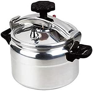 Lambart - Silver - Aluminium - Manual Pressure Cookers-11 Ltrs