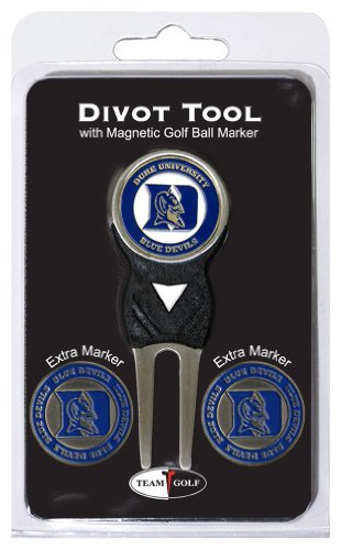 Duke Blue Devils Golf - NCAA Duke Blue Devils Divot Tool Pack With 3 Golf Ball Markers