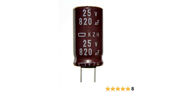 Nippon Chemicon Electrolytic Capacitor 16v 47uF 85/'C 5mm x 11mm 25 pieces OL0043