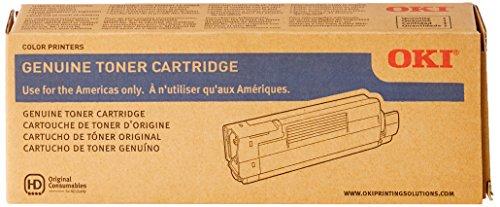 C5550n Mfp Series - Oki Data 43324417 Toner Cartridge for C6100 Series, 5000 Page Yield, Yellow