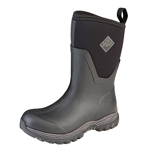Muck Boot Women's Arctic Sport II Mid Snow Boot, Black, 7 M US by Muck Boot (Image #1)