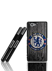 Fashion Bright Pattern Sony Xperia Z2 Compact Design With Chelsea Football (Only Fit For Z2 Compact)