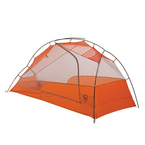 Big Agnes Copper Spur HV UL1 Backpacking Tent, Gray/Orange, 1 Person