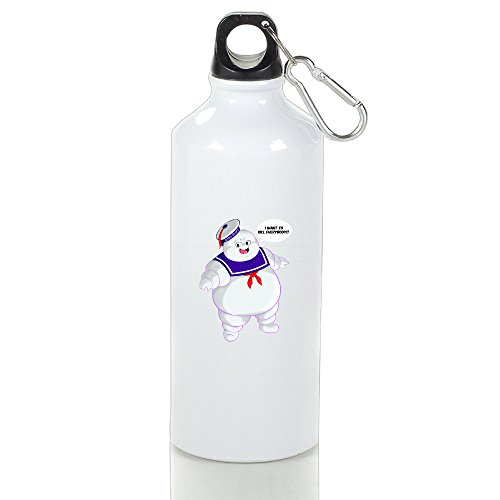 [XJBD Tumbler Stay Puft Ghostbusters By Christianimas Thermal Vacuum Cup Size 400ml] (Cute Slimer Costumes)
