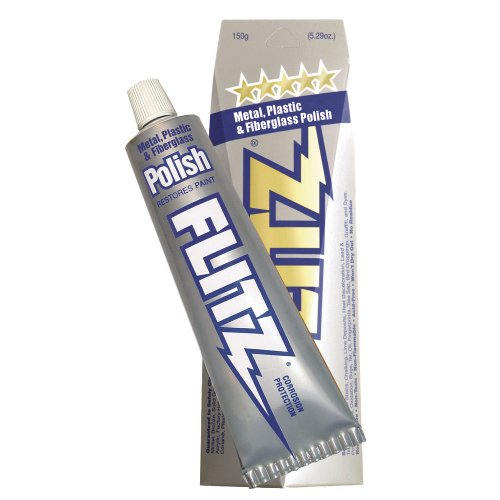 Flitz Polish - Paste - 5.29 oz. Boxed Tube (Brass Silverplate)