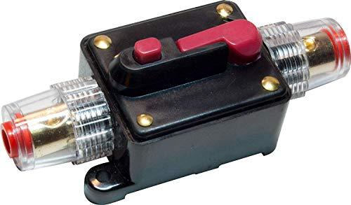 12V DC 30A Car Audio Circuit Breaker Inline Fuse for 12V System Protection 30AMP