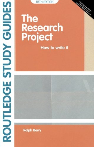 Best The Research Project: How to Write It, Edition 5 (Study Guides) Z.I.P