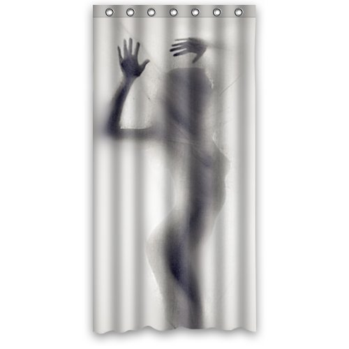 Amazon Cool Silhouette Shadow Bath Curtain
