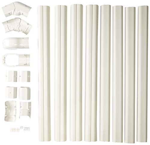 - PVC Line Set Cover Kit for Mini Split Air Conditioners and Heat Pumps