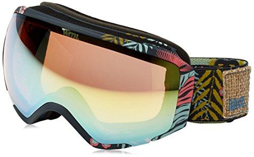 Anon WM1 Snow Goggles Tiki With Gold Chrome & Blue Lagoon Lens -  13230102958_Tiki/Gold Chrome_One size