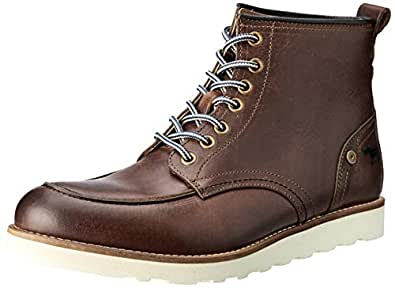 Wild Rhino Men's League Boots, Brown (Camel), 40 EU