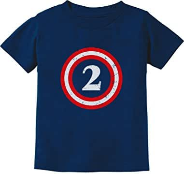 Captain 2nd Birthday - Gift for Two Years Old Toddler/Infant Kids T-Shirt