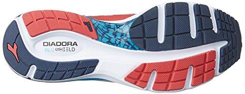 Diadora - Zapatillas de running para hombre rojo rojo