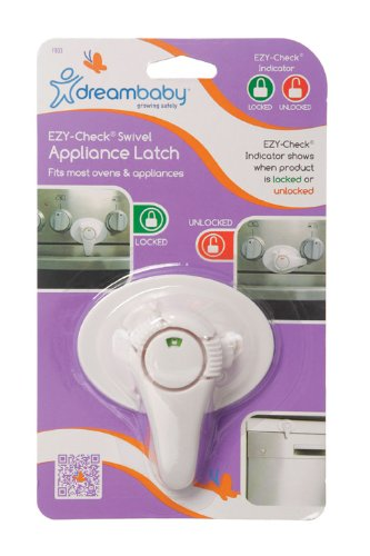 Dreambaby Swivel Oven and Appliance Lock with EZY-Check Indicator (1 Pack)