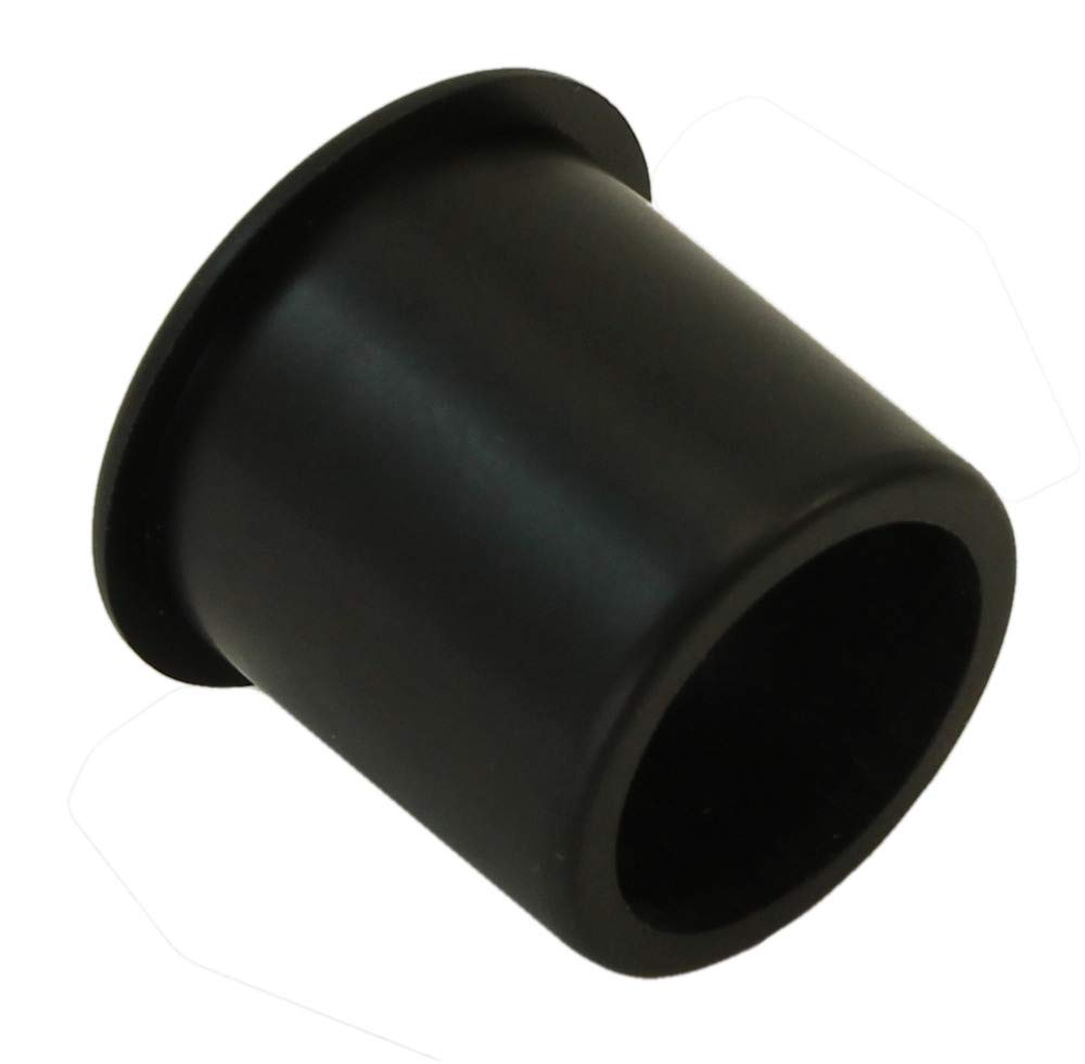 MyCableMart 1 Cut-Hole Size Black Round Wire Management Grommet with Removable Lid