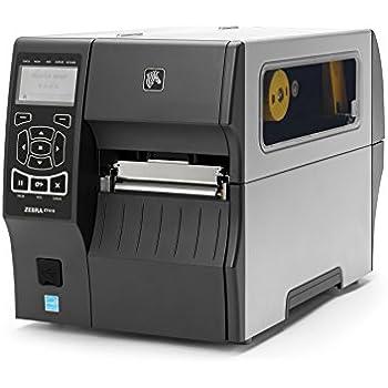 Zebra ZT41042-T010000Z ZT410 Industrial Thermal Transfer Table Top Printer, 203 DPI, Monochrome, With 10/100 Ethernet, Bluetooth 2.1, USB Host