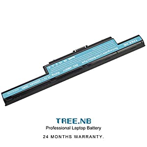 Tree.NB High Performance Li-ion Cell Laptop Battery for Acer AS10D31 AS10D51, Acer Aspire 5253 5251 5336 5349 5551 5552 5560 5733Z / Acer TravelMate 5740 5735Z 5740G / Gateway NV55C NV50A NV53A NV59C