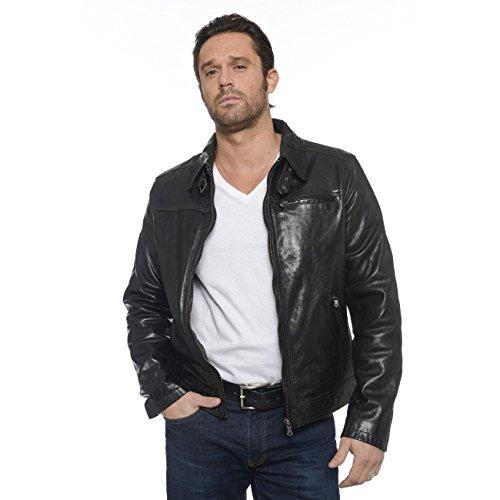 Daytona Major - Blouson en cuir - Homme - Noir - S